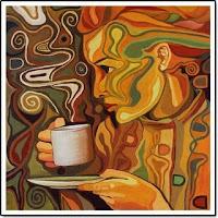 Menyesap kopi