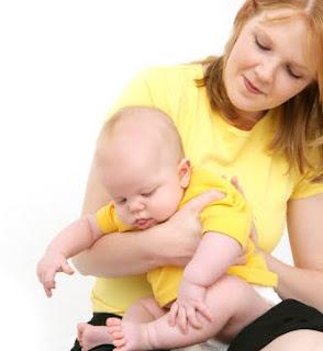оригване на бебе
