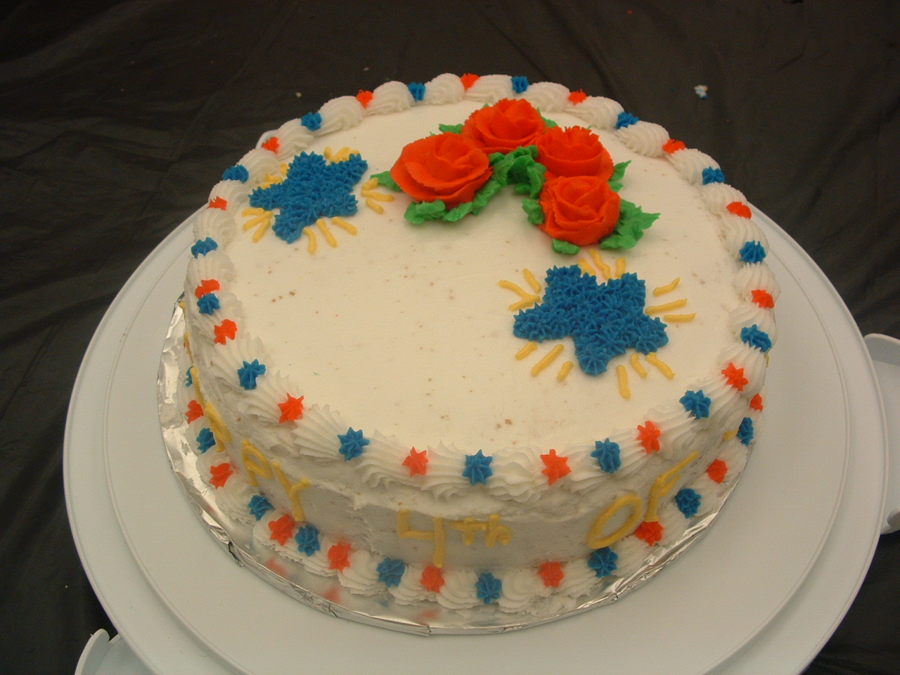 Cake Decorating by Sonia: June Final Cake - Decorating ...