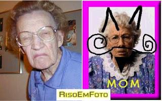 Fotos de sogras usadas em piadas