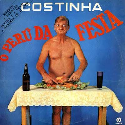 Costinha na capa do disco LP O Perú da Festa