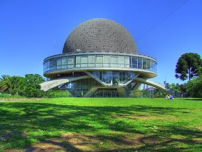 Planetário do Bairro de Palermo, em Buenos Aires.