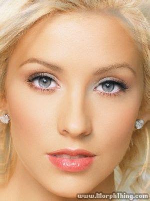Morph de Britney Spears e  Christina Aguilera