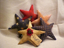 Americana Star Ornies