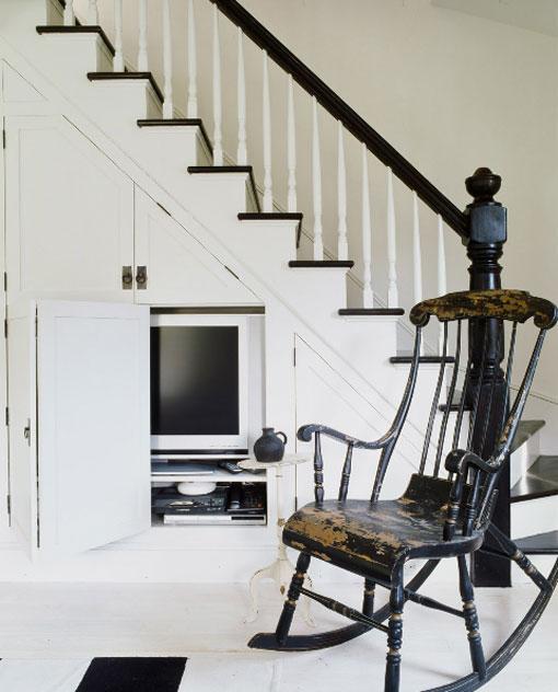 Baño Debajo De Escalera Medidas:El cuaderno del decorador: Aprovechar el hueco de debajo la escalera