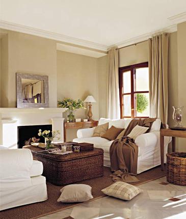 Pintura de la casa decoraci n decorar tu casa es - Pintura blanco roto ...
