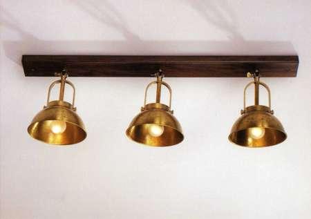 El cuaderno del decorador iluminaci n flexos focos y - Apliques de luz rusticos ...