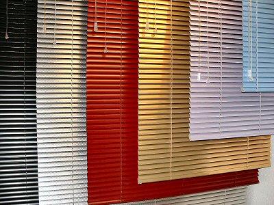 El cuaderno del decorador cortinas visillos y persianas - Persiana veneciana de aluminio ...