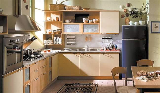 El cuaderno del decorador tipo de cocinas seg n su for Distribucion de muebles de cocina
