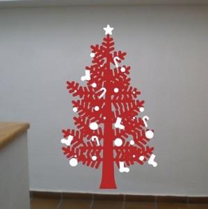 El cuaderno del decorador alternativas al rbol de navidad - Decoracion de arboles navidenos para ninos ...