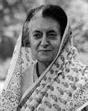 इंदिरा प्रियदर्शिनी गांधी