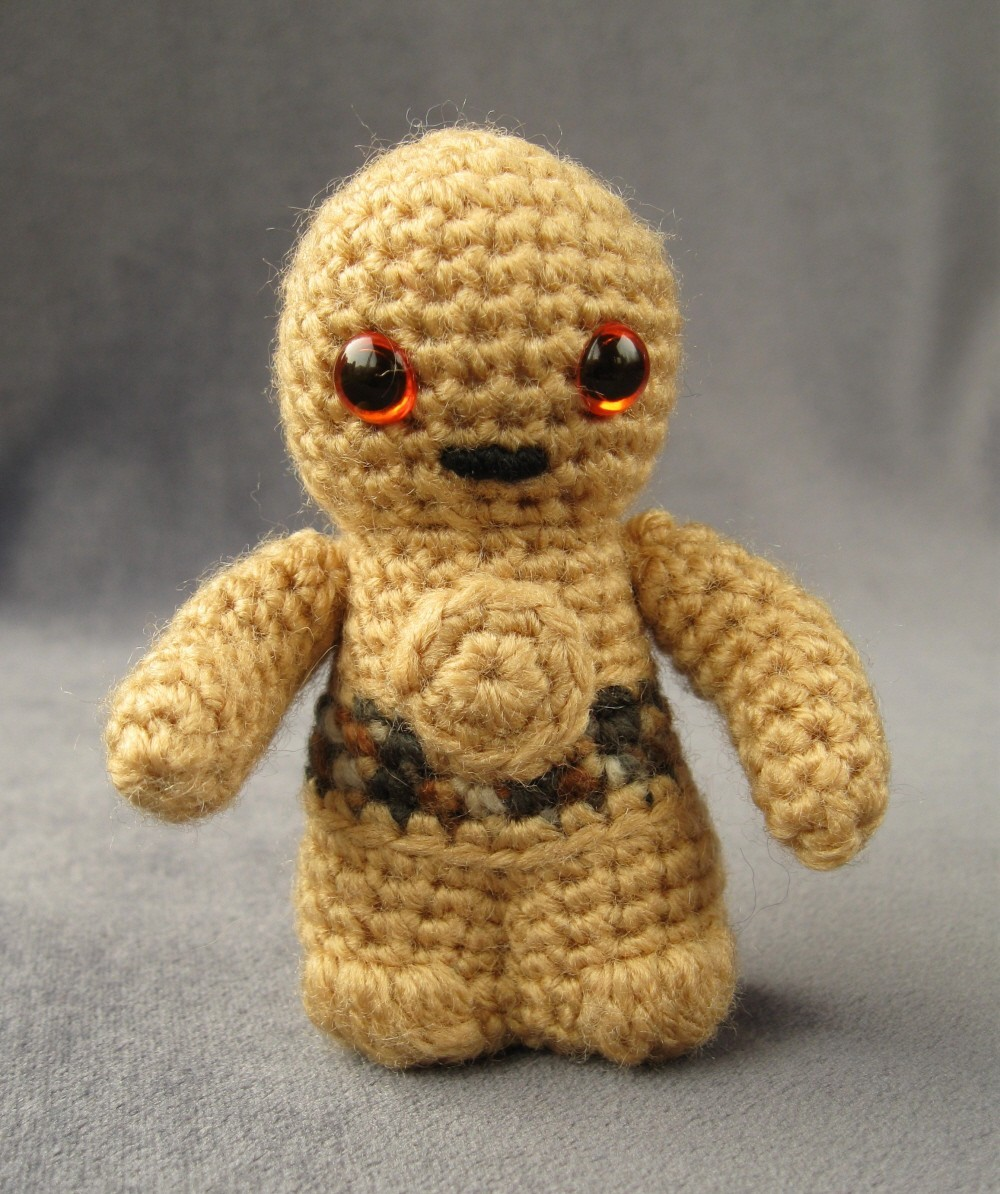 Amigurumi Snowman Pattern : Star Wars Amigurumi Worldwide Crafts