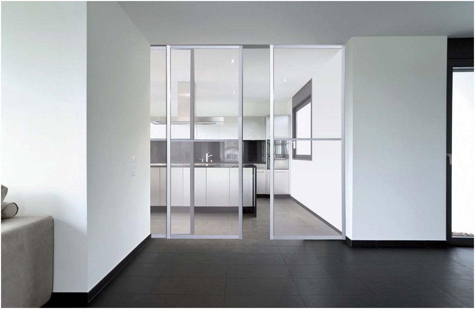 Especialistas en productos para la cocina ba o armario - Puertas de cristal correderas para cocinas ...