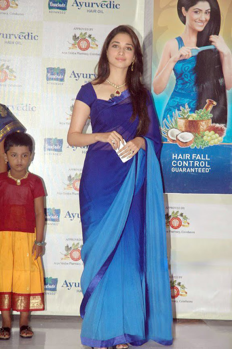 tammanah in blue at parshute ad campaign glamour  images