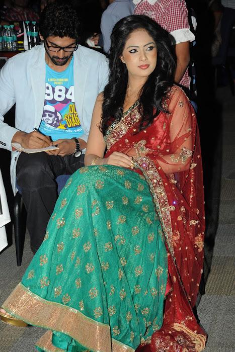 nikesha patel at scope cine awards hot photoshoot