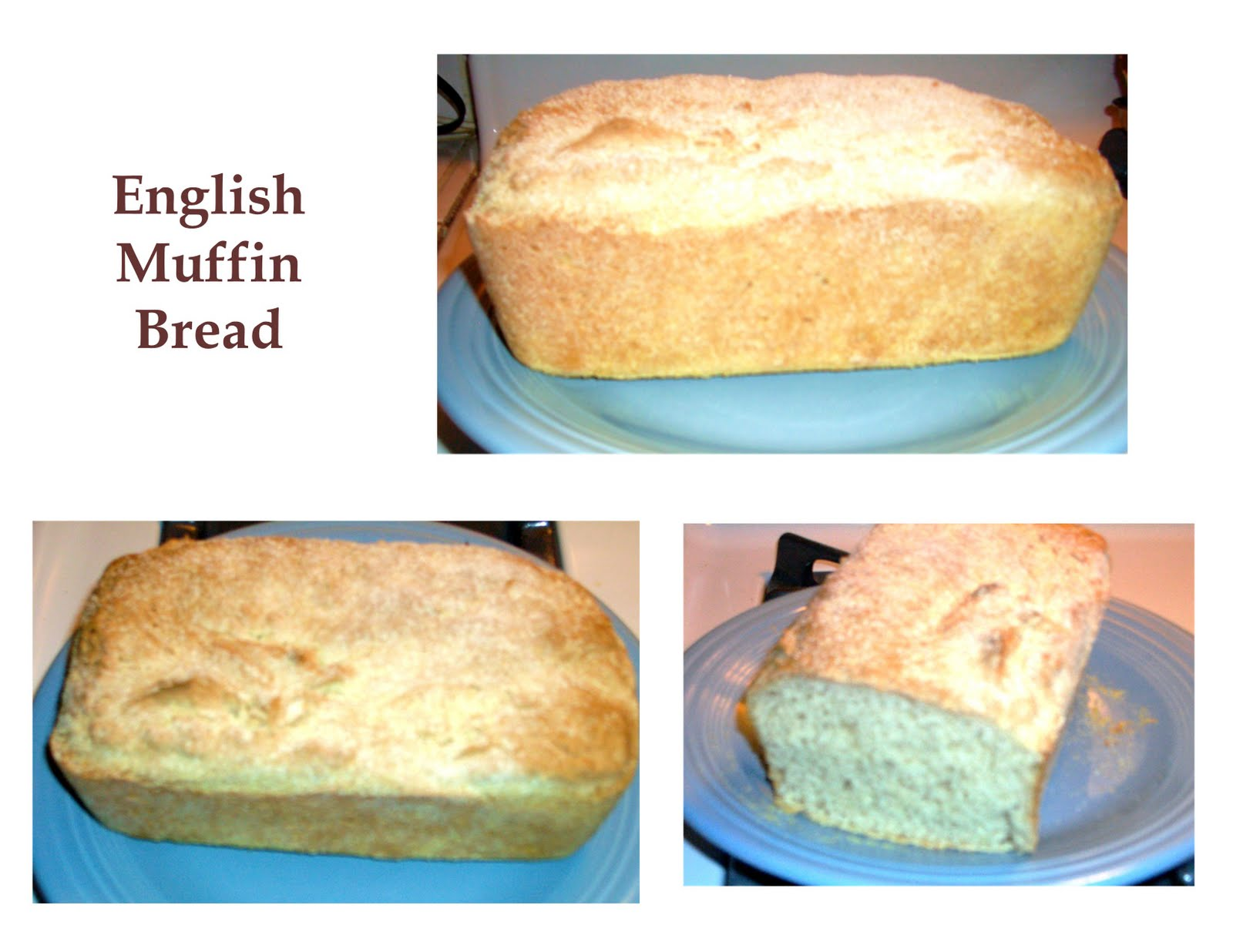 Hodgepodge from The Geranium Farm: English Muffin Bread