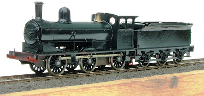 The P1 in black awaiting its red bufferbeams and lining.