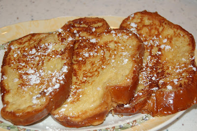 NJ Epicurean: Challah Bread French Toast