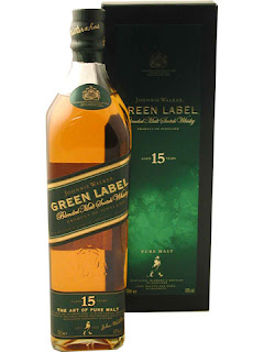 Johnnie walker green label stop production