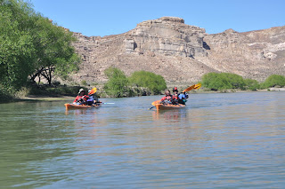 River Kayak Expedition in Patagonia