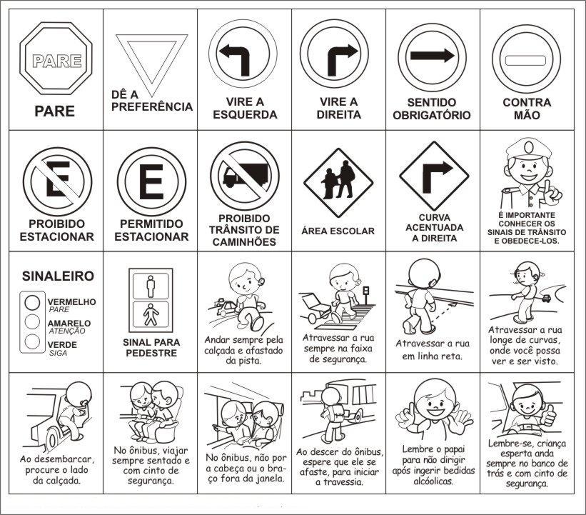 Imágenes de señales preventivas de tránsito para imprimir y ...