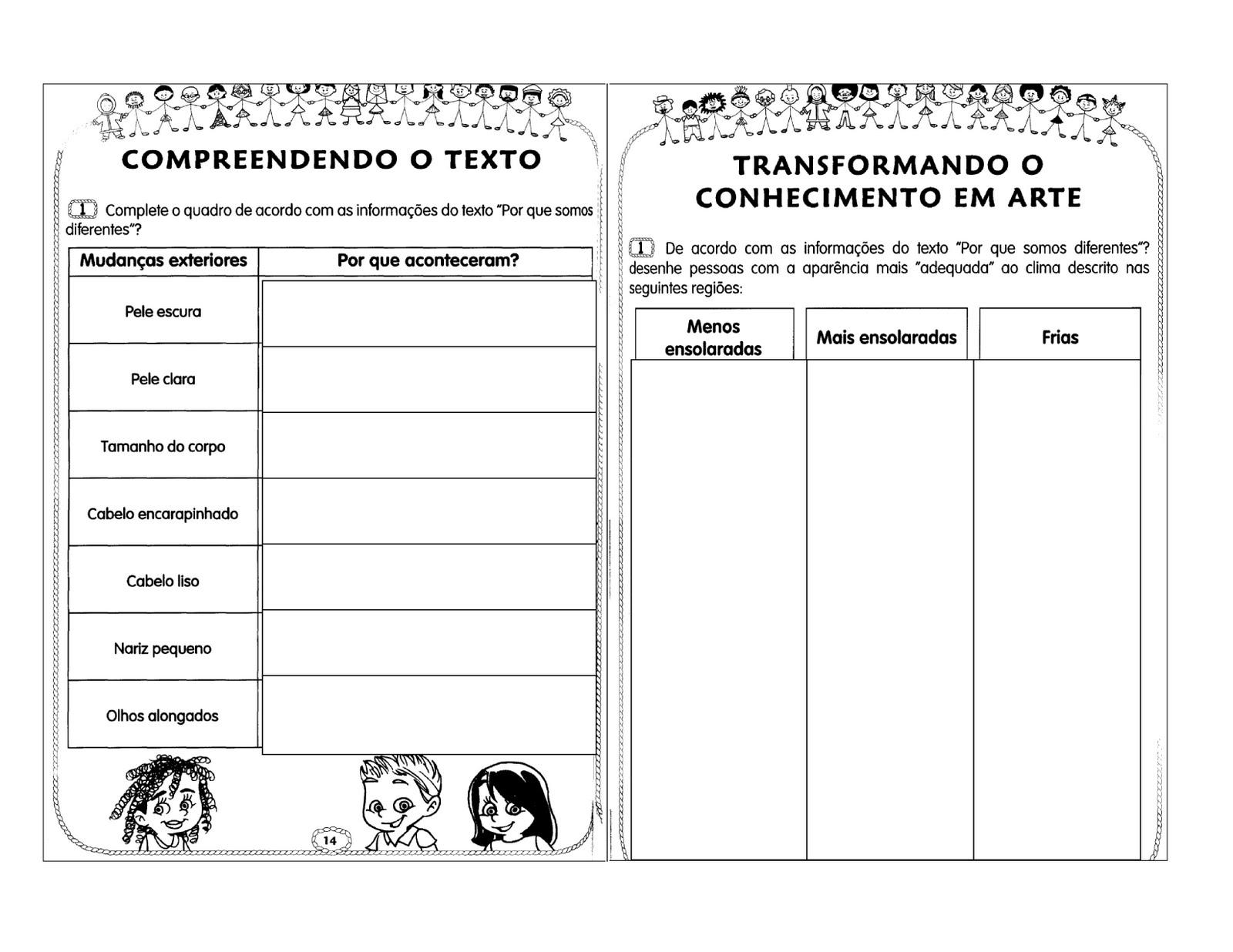 Well-known Centro de atividades escolares - Josefa Krysiaki: Cultura Afro QL35
