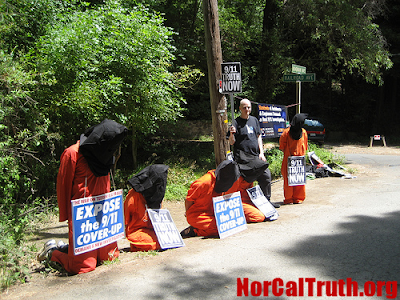 2009 Bohemian Grove Gets Underway Amidst Protests 4