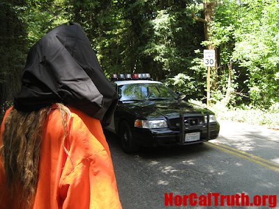 2009 Bohemian Grove Gets Underway Amidst Protests 2