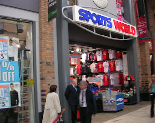 shopfront sportsworld Architecture; Interior; Sports World International