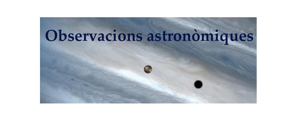 Observacions astronòmiques