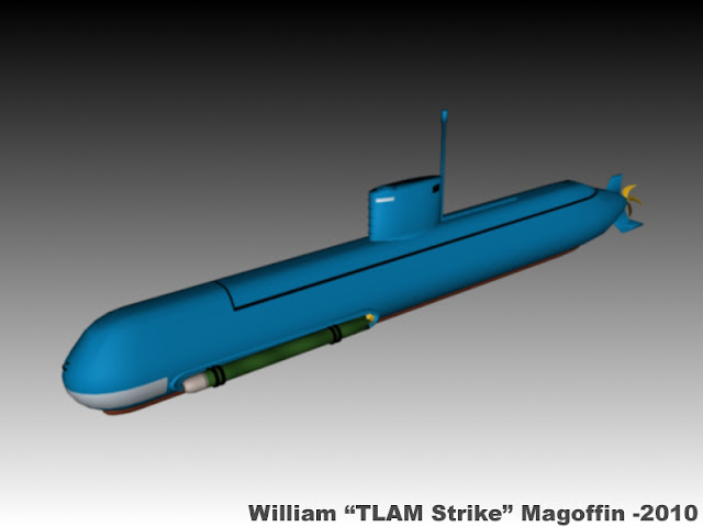 غواصات كوريا الشماليه North Korean submarine MS29+Render
