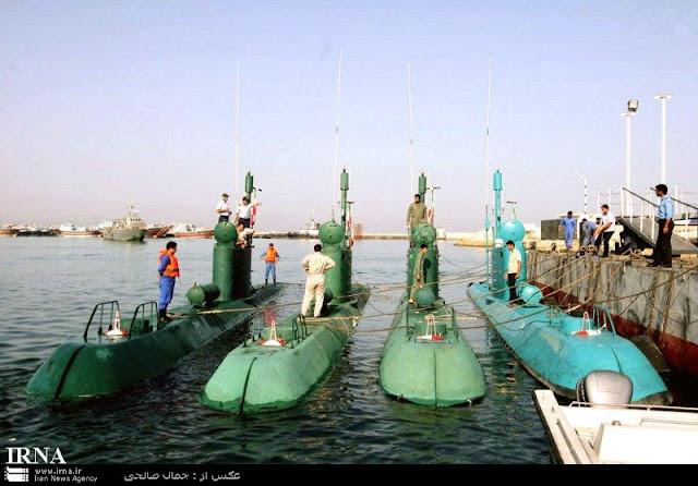 غواصات كوريا الشماليه North Korean submarine Ghadir