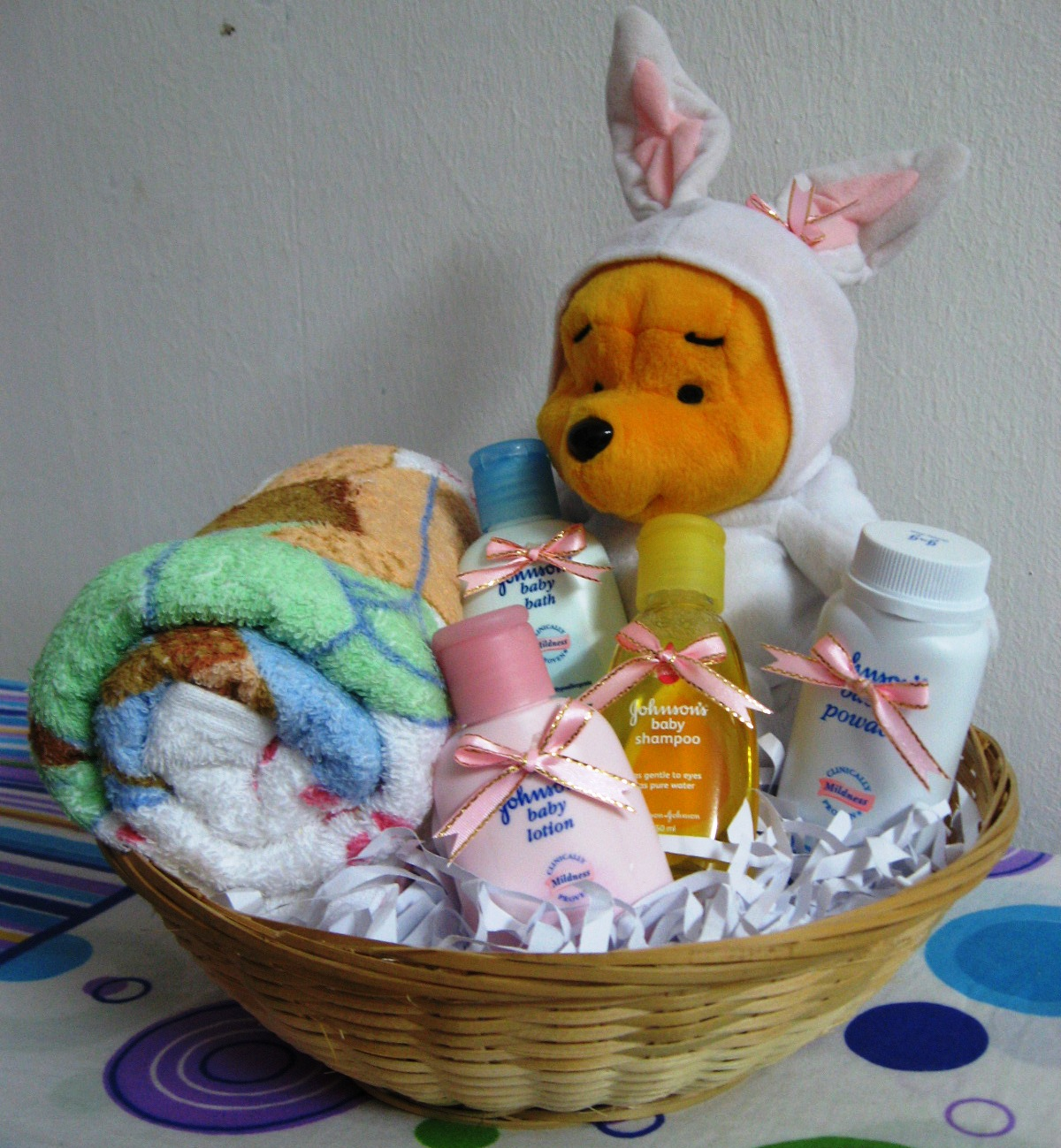 Baby Gift Basket Kit : Welcome to oh my gift basket