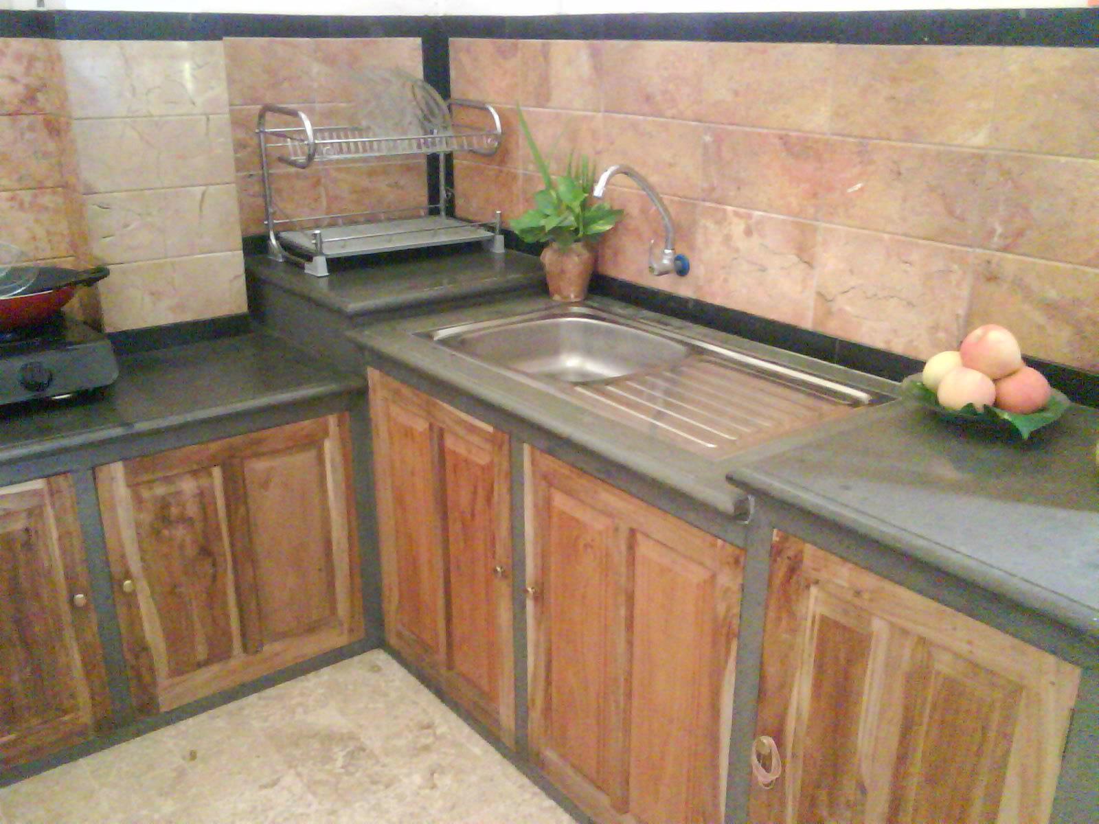 keramik dapur minimalis inspirasi rumah idaman
