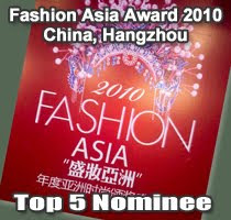 Fashion Asia Award 2010 - Top 5 Nominee