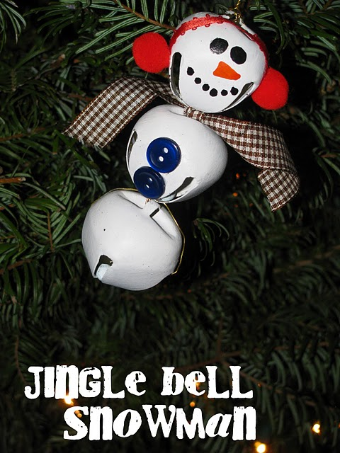 Sassy sites more christmas crafts for kids for Jingle bell christmas ornament crafts