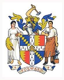 Escudo de Armas de la ciudad de BIRMINGHAM - Inglaterra