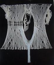El grito del glaciar ( obra textil)