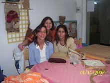 Florencia, Daniela y yo