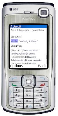 Tämä ei ole minun puhelimeni, vaan wap-emulaattori netistä