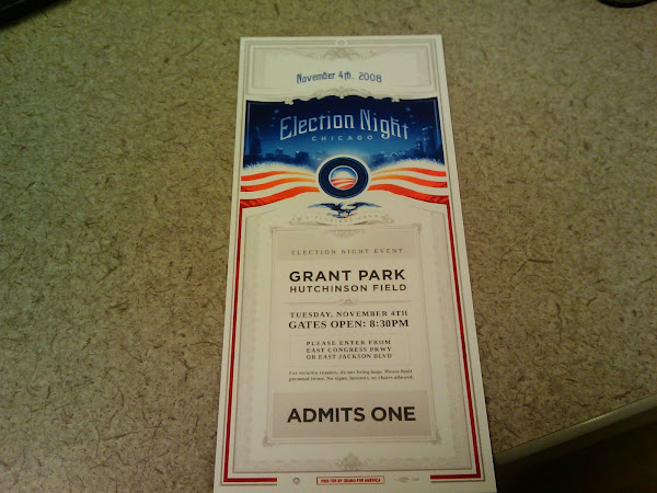 Went to the Obama Rally in Grant Park