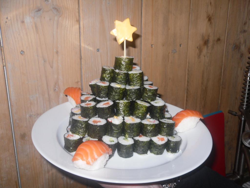 Sillysilsil.com: sushi kerstboom
