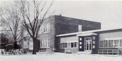 St John Elementary School in Seward, Nebraska. The photo was taken from the school yearbook.