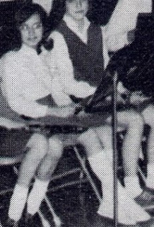 Cheryl Stelmachowicz pictured as an orchestra member in the 1965-1966 yearbook of St John Elementary School in Seward, Nebraska