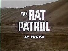 Opening Credit for the TV show Rat Patrol, which ABC showed during 1966-1968. The image was taken from http://www.answers.com/topic/the-rat-patrol