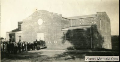 Alumni Memorial Gymnasium on the campus of Concordia College (Concordia University). The image is from The Broadcaster magazine, http://www.cune.edu/resources/docs/Broadcaster/Broadcaster_Spring_2008.pdf