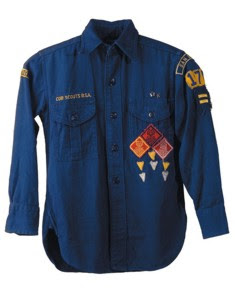 Cub Scout uniform.