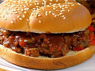 Sloppy Joe sandwich. Image taken from  http://www.foodnetwork.com/recipes/neelys/spensers-sloppy-joes-recipe/index.html