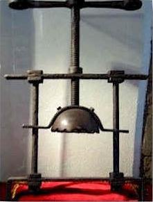 Instrumentos de tortura de la santa inquisicion