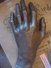Molde Póstumo Da Mão de Chopin